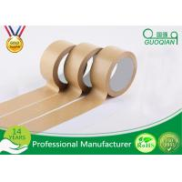 Wholesale Automatic Adhesive Custom Printed Kraft Paper Tape For Packing / Wrapping from china suppliers