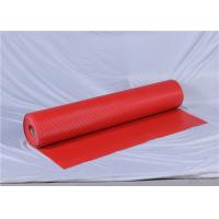 Wholesale Item AT5015 antistatic red PVC car mat 1~5mm thickness Vinyl Flooring mat from china suppliers