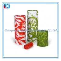 Quality Tea Packing Flat Paper Can for sale