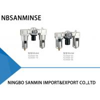 Wholesale AC Air Compressor Filter Regulator Lubricator Unit ISO9001 Certification from china suppliers