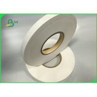 China Food Grade White Straw Paper Roll Slitted For Drinking FDA FSC Certificate for sale