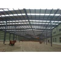 China Large Span Prefabricated Engineered Building Construction With Indoor Office for sale