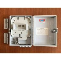 Buy cheap FTTH wall mounted Fiber Optic Distribution Box with 1x8  lgx splitter from Wholesalers