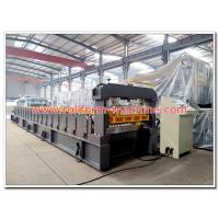 China Metal Colour Coated Roofing Sheet Making Machine for Rolling Max. 0.8mm Thickness Steel or Aluminum Sheets in Coils on sale
