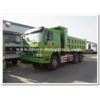 Wholesale HOWO  336 hp new condition diesel fuel type dump truck with Q345 Steel heavy tipper from china suppliers