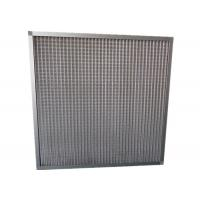 China MERV 11 Household Portable Mesh Panel Air Filter Pre Filter With Aluminum Frame on sale