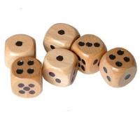 Wholesale 12mm wood dice natural wooden toy dice wooden kids game dice from china suppliers