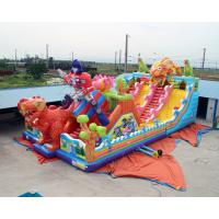 Buy cheap Cheap Kids Big Dinosaur Playground Giant Inflatable Bouncer Castle House With Slide For Children Sale from wholesalers