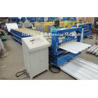 Wholesale Double Layer Roofing Sheet Roll Forming Machine Width 1200mm , 3 Phase from china suppliers