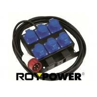 Quality 3680 W CEE Sockets Portable Power Distribution Box 3 Phase for theatre lighting for sale