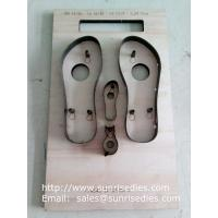 Slipper sole steel cutting dies making