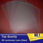 China PLASTICLENTICULAR 75 LPI lenticular lens 3d PP lenticular sheet 0.45mm plastic 3d lenticular film for promotion sale for sale