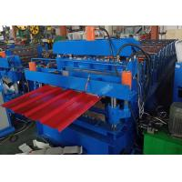 China Double Layer 840/850 Roofing Sheet Roll Forming Machine 6 Kw Power for sale