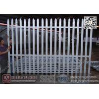 Wholesale 2.4m Height x 2.75m Steel Palisade Fence | HESLY China Palisade Fencing Factory from china suppliers