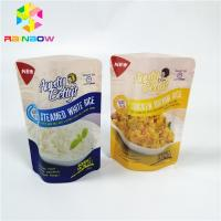 China Frozen Food Plastic Pouches Packaging Stand Up Nylon Vacuum Retort Storage on sale