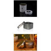 Black Candle Jar Candle Tin Box With Lid