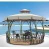 Buy cheap China outdoor gazebo garden tent metal pavilion flower garden Pavilion 1117 from wholesalers