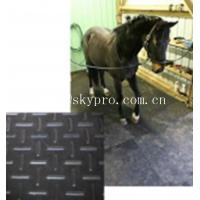 Wholesale Black horse / cow  rubber stable matting variable textures on top 3mm thick min. from china suppliers