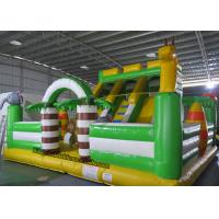Wholesale PVC Animal Inflatable Bouncy Castle Bed , Blow Up Kids Water Slide from china suppliers