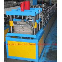 Wholesale Corrugated Color Steel Roof Ridge Cap Roll Forming Machine from china suppliers