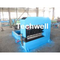 Wholesale 0-10M / Min Cold Roll Forming Equipment , Roof Sheet Making Machine 500mm Curving Radius from china suppliers