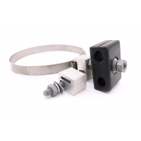 Wholesale Stainless Steel Adss Opgw Rubber Down Lead Clamp from china suppliers