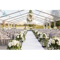 Wholesale Luxury Wedding Event Structure Outdoor Transparent Roof Fabric Tent Canopy from china suppliers
