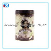 Wholesale Pretty round coffee tin box from china suppliers