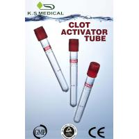 Wholesale Vacuum Medical Clot Activator Tube For Blood Collection With Red Stopper from china suppliers