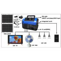 Buy cheap 168Wh Residential Solar Power Systems All Day Working Off Grid home System TV from wholesalers