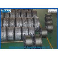 Wholesale 24mm Anti twist wire rope Breaking Load 389kN 18 Strands T25 Structure Line Stringing Engineering from china suppliers