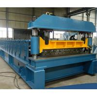 Buy cheap PLC Control Sheet Metal Forming Equipment Roof Tile Forming Machine from Wholesalers