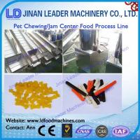 Wholesale Low consumption chewing Jam center pet food production line from china suppliers