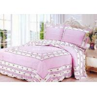 Wholesale 100% Cotton Quilted and Printed Comforter Set, Bedspread Set from china suppliers