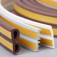 Wholesale New product oem abrasion resistant soft rubber sponge strip/silicone striping/customize silicone seal from china suppliers