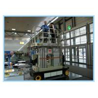 Quality Four Mast Self Propelled Aerial Scissor Lift 10m For Business Decoration for sale