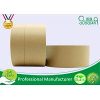 Quality Automatic Adhesive Custom Printed Kraft Paper Tape For Packing / Wrapping for sale