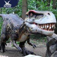 Wholesale Zoo Equipement High Quality Realistic Dinosaur Models Handmade Robotic Dinosaur Model from china suppliers