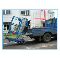 Wholesale Window Cleaning Operate Elevated Work Platforms , 8 Meter Height Vertical Mast Lift from china suppliers
