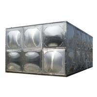 Wholesale 304 Stainless Steel Water Storage Tanks With Stainless Steel Mounting Panel from china suppliers