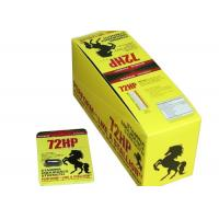 Wholesale 72hp Male Enhancement Pills , Natural Prolong Sex Enhancement Capsules 24pills / Box from china suppliers