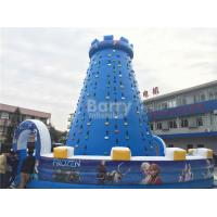 Quality 0.55mm PVC Tarpaulin Inflatable Climbing Toys , Blow Up Climbing Obstacle Course for sale
