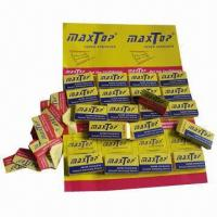 Wholesale 200-carton ready goods razor blades from maxtop from china suppliers