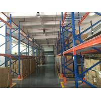Wholesale Space Saving Industrial Heavy Duty Racking System With Wooden Pallet from china suppliers