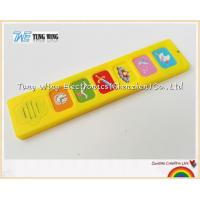 Wholesale Popular 6 Button Sound Book Module Indoor Educational Toys from china suppliers