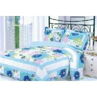 Wholesale 100% Cotton Quilted and Printed Bedspread Set from china suppliers