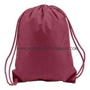 China Eco- friendly Non Woven Drawstring Grocery Bags for Storage , PP Non Woven Drawstring Bags on sale