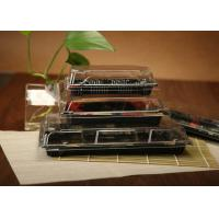 Wholesale Ssquare Plastic Sushi Box / Disposable Sushi Containers With Lid For Take Out from china suppliers