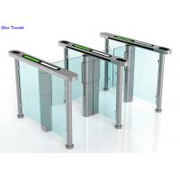 Intelligent Automatic Turnstiles , Controlled Access Turnstiles Gate With Servo Driver