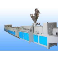 China PP / PE WPC Making Machine , Decking Fence Profile WPC Extrusion Machine on sale